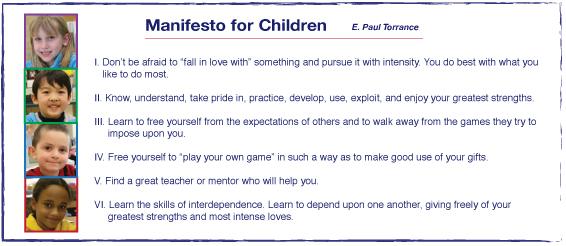 Manifesto for Children